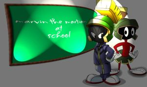 marvin the martian by sekims