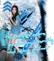 SNSD Tiffany beuty by ohaturtlesnail