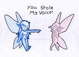 You Stole My Voice by Luifex
