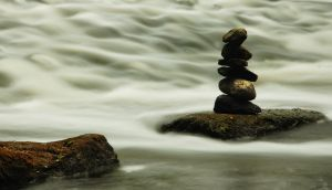 River Cairn by RollingFishays