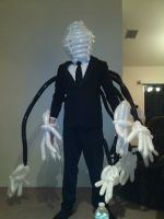 Balloon Slenderman Cosplay aka Balloonderman by NoOrdinaryBalloonMan