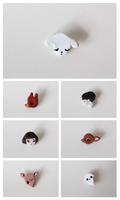 some brooches by like-textas