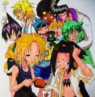 Shaman king group by Issoman