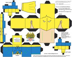 DC SH 11: Dr. Fate Cubee by TheFlyingDachshund