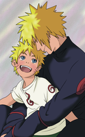 He Lives In You - Minato and Naruto by MSU82