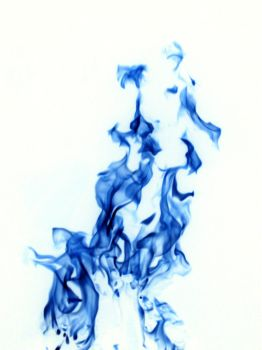 BLUE DARK FLAME by parishad