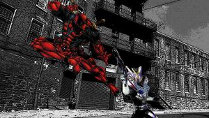 Marvel Deadpool Vs Kamen Rider Den-O Gun Form by Digger318