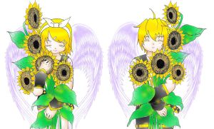 the childs of Sunflower by Tami-BF