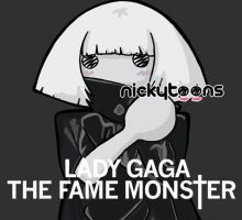 Lady Gaga: The Fame Monster by NickyToons