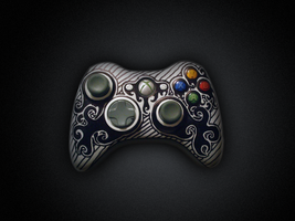 Tribal Xbox 360 Controller by Supertod