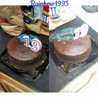 My B-Day cake 11.9.2014 by Leadmare111