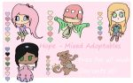 Free Adoptables + Color Palettes - Hope {Closed} by KyraStarr