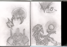 Metroid Sketches by DAFORCEFilms
