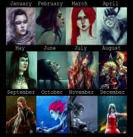 2012 Art Summary by NanFe