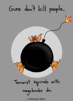 Terrorist Squirrels by sebreg