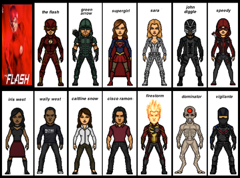 The Flash Season 3 Episode 8 by the-collector-13
