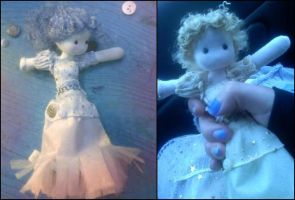 My Isabella: Ribbon Doll by dreamylittlethings