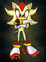 Super Shadow The Hedgehog - Sa Style by Shadoukun
