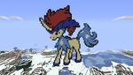 Keldeo pixel art by unusualguy1