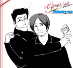 GSS-CONTEST Ted and Yasushi by YukiBlueSnow