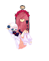 Art trade: Pixel Lilly by herohou