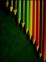 Pencils rainbow by peps4o