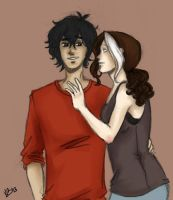 Avery and Diego by LilyScribbles