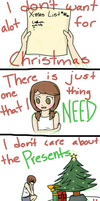 All I Want For Christmas Is You by maracat0901
