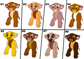 lion adoptables FREE NO POINTS ALL GONE by sungirl128