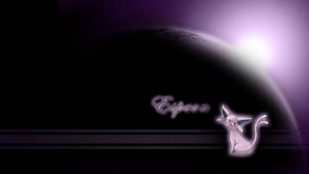 Espeon Sun Wallpaper by Wild-Espy