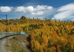 Train of Fall by SniperOfSiberia