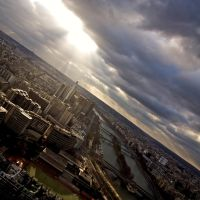 paris from above by mystery-man