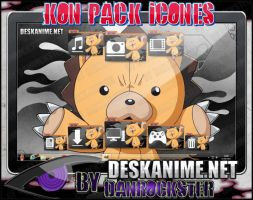 Kon Pack Icons by Danrockster