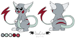 Comm - Raichu OC Reference by VibrantEchoes