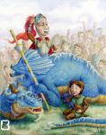 The Reluctant Dragon by LindseyBell