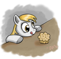 Derpy Can Has Muffin? by TurboSolid