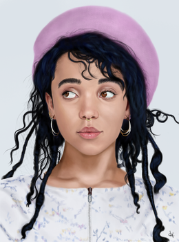 FKA Twigs by Trespie