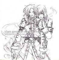 Trinity Blood - Playthings by claes-gascogne