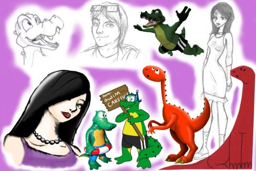 Examples of my styles 2009 - 2014 by Tommassey250