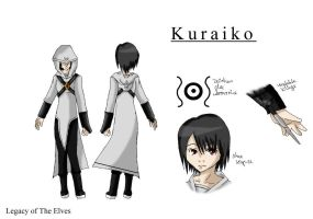 Kuraiko Charaktersheet - Legacy of The Elves by Klein-Reita