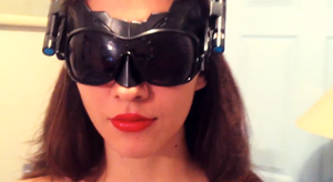 TDKR: Catwoman Goggles Mask by Romantically-Geeky