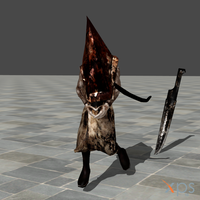 Silent hill 2 - Pyramid Head(RedHead) by HenryTaunsend
