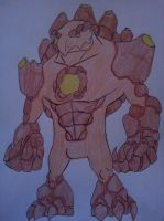 Crash BandiReboot - Magmadon Titan by Zigwolf