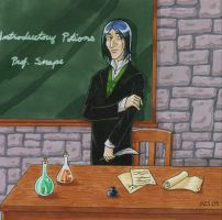 The New Teacher by laerry