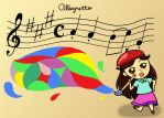 Paint a Melody by SVYR14