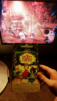 My VHS Collection 27: Secret Of NIMH Box Case by Scamp4553