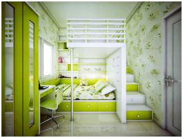 Child's bedroom by jaxpc