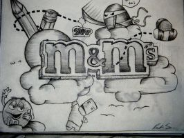 MnMs doodle by ROCKING-SOCKS94