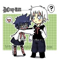 Noah and Walker :D.gray-man: by Yushuyu
