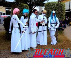Espadas and Aizen at AF 2010 by Roddy-Shinigami